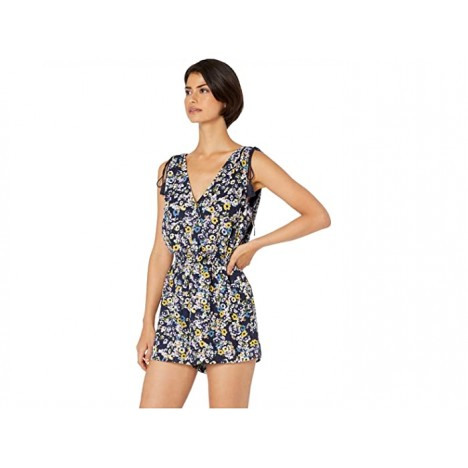 Cupcakes and Cashmere Meadow Floral Printed Romper