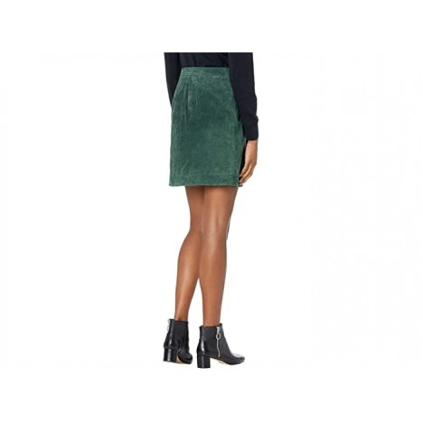 Blank NYC Real Suede Wrap Skirt
