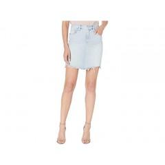 Hudson Jeans Lulu Denim Skirt in Authenticity