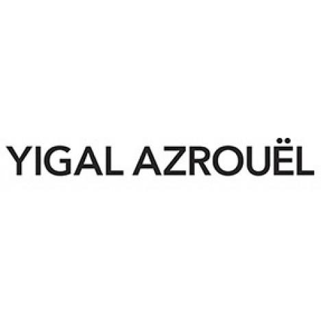 YIGAL AZROUËL Leopard Printed Scuba Skirt