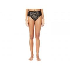 Jonathan Simkhai Lace Combo High-Waisted Bikini Bottoms