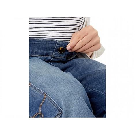 Seven7 Adaptive Seated Tummyless Easy Straight Jeans w Cargo Pocket in Grove