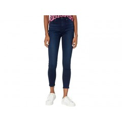 7 For All Mankind High-Waist Ankle Skinny in Slim Illusion Twilight Blue