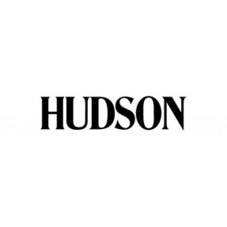 Hudson Jeans Barbara High-Waist Cropped Skinny Jeans in Tangerine