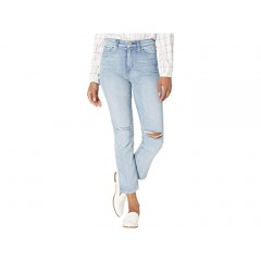 Hudson Jeans Holly High-Rise Crop Straight Jeans in Dest Washed Out