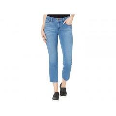 J Brand Selena Mid-Rise Crop Boot in Cerulean