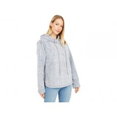 Dylan by True Grit Whistler Tippled Plush Side Zip Pullover Hoodie