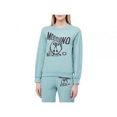 Moschino Warped Logo Sweatshirt