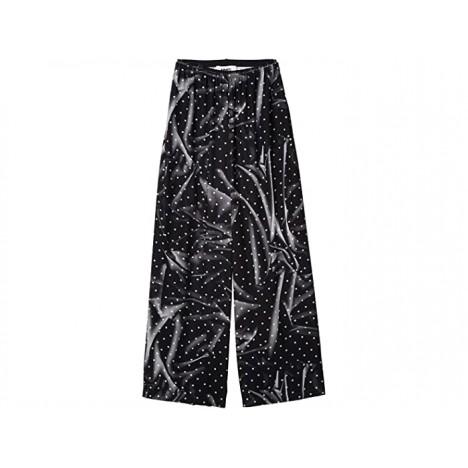 MM6 Maison Margiela Printed Dot Detail Big Pants