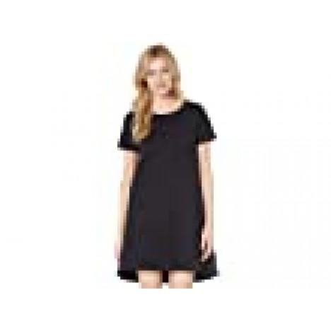Bobeau Short Sleeve Cotton T-Shirt Dress