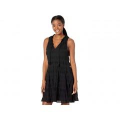 MAXSTUDIO Cotton Tiered Short Dress