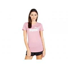 PUMA Essential + Logo Heather Tee