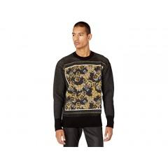 Versace Jeans Couture Scarf Print Sweatshirt