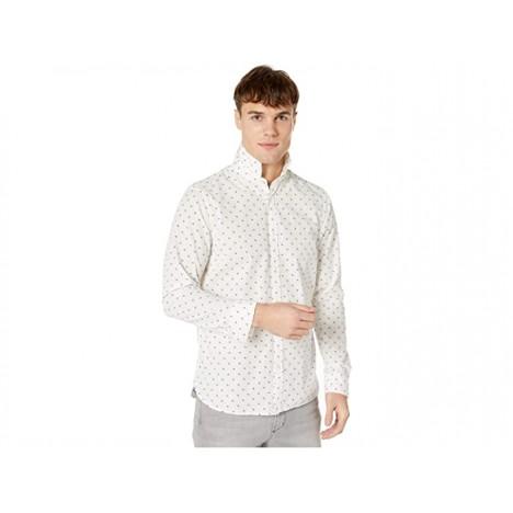 Scotch & Soda Regular Fit - Classic All Over Printed Poplin Shirt