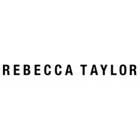 Rebecca Taylor Sleeveless Swirl Dot Top