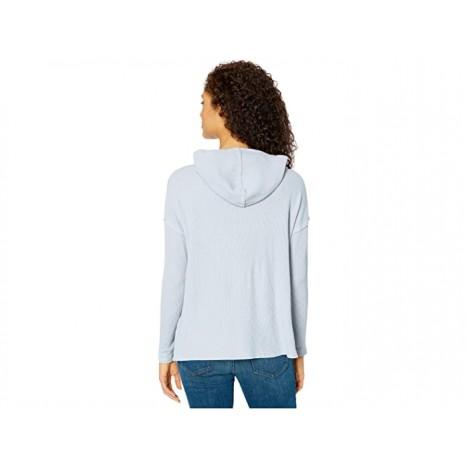 Mod-o-doc Cotton Modal Thermal Hooded Kangaroo Pocket Pullover