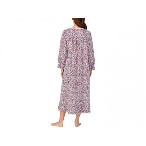 Eileen West Cotton Lawn Woven Long Sleeve Ballet Gown