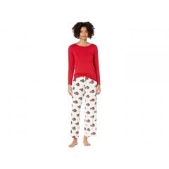 Kickee Pants Long Sleeve Loosey Goosey Tee & Pants PJ Set