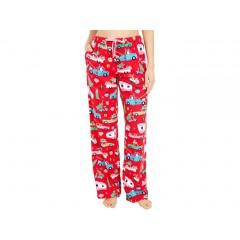 Little Blue House by Hatley Retro Christmas Flannel Pajama Pants